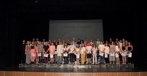 Concluye el curso en la Escuela Municipal de Música y Danza de Roquetas de Mar