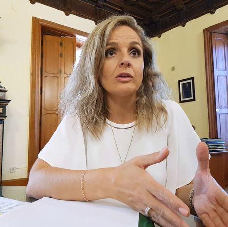"""Maribel Sánchez: """"Vamos contrarreloj porque tenemos 37 años frente a una legislatura"""""""