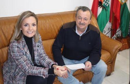 La delegada de la Junta visita el Ayuntamiento de Pulpí