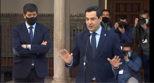 PP y Cs revalidan su pacto para gobernar Andalucía