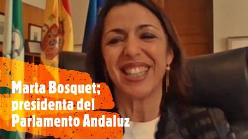 Marta Bosquet: 'El 28F debe ser de celebración y reivindicación'