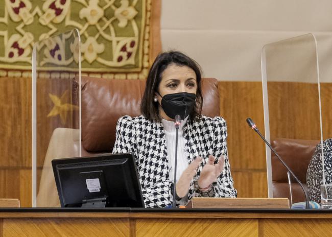 Discurso de la presidenta del Parlamento Andaluz con motivo del Día de Andalucía
