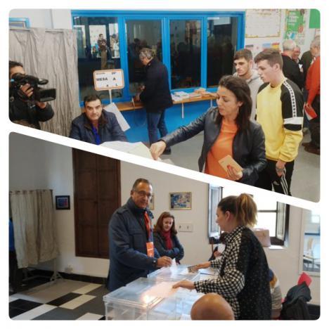 Vicente (Cs) vota en Vélez Rubio y Bosquet pide salir del desbloqueo