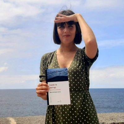 La periodista Marta Rodríguez presenta 'Cuando fui náufraga'