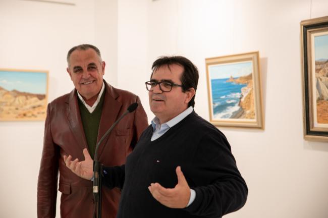 Los mejores paisajes de Almería pintados por Pedro Martínez Medina en Galería Alfareros