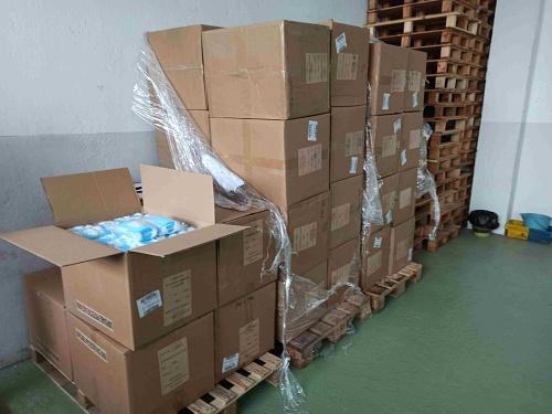 El Gobierno central reparte 160.000 mascarillas en Almería desde el lunes