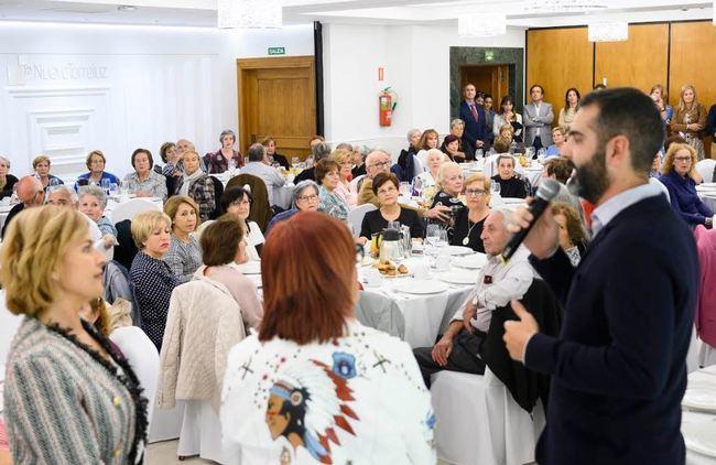 115 mayores en los talleres de envejecimiento activo