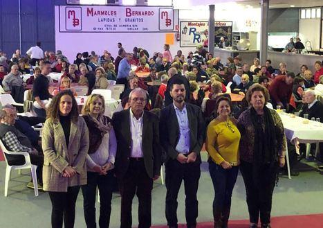 Mayores De Vícar Disfrutaron De Su Convivencia Navideña En Ugíjar