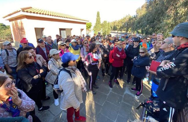 El Parque Del Andarax Acogió La Cuarta Cita De Olimpiada De Mayores