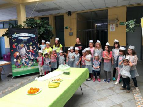 Decenas De Niños Y Niñas Participan En Los Primeros Talleres De 'Mi Mercado Me Gusta'