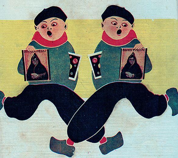 Ilustraciones de Miguel Salmerón Pellón en una exposición de 'Doña Pakyta'