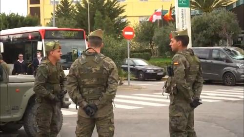 El Ejército ya ocupa el Hospital de Torrecárdenas
