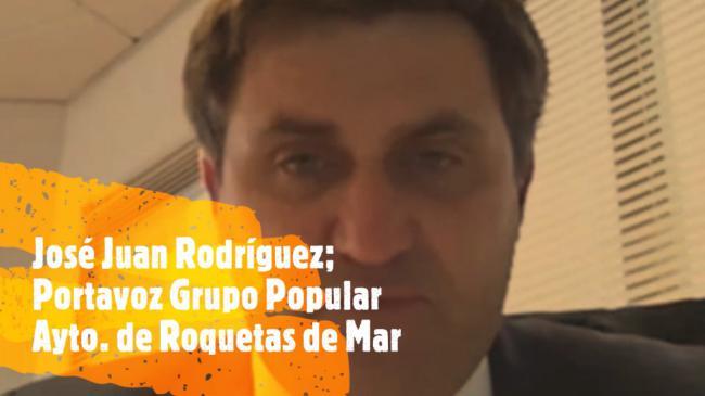 """JJ Rodríguez: """"Un presunto delincuente pide la dimisión de alguien que no está ni investigado"""""""