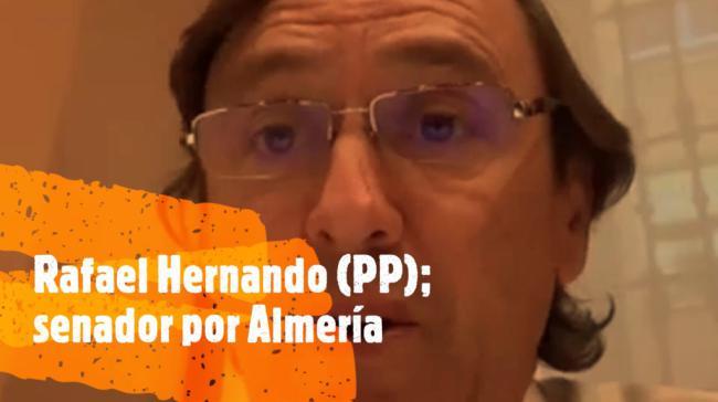 """Rafael Hernando: """"El PSOE sigue haciendo trilerismo en Almería"""""""
