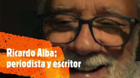 Ricardo Alba presenta su libro 'Las ovejas duermen en familia'
