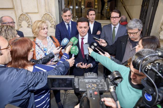 Minuto de silencio en Diputación por el 11-M