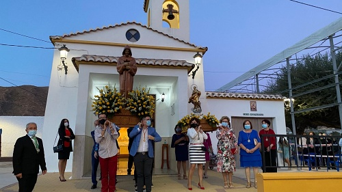 El barrio de Peñarrodada honra a su patrón