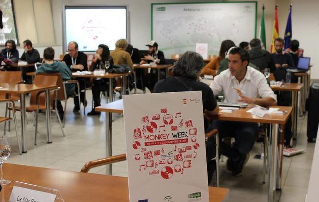 Una empresa de Almería acude a 'Monkey Week SON Estrella Galicia' de Sevilla