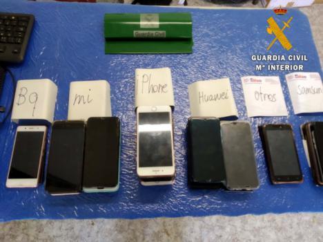 Recuperan casi 50 móviles hurtados en Dreambeach