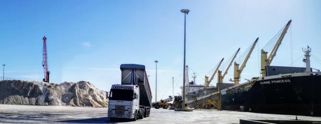 La Autoridad Portuaria de Almería instalará dos estaciones lava-ruedas de camiones