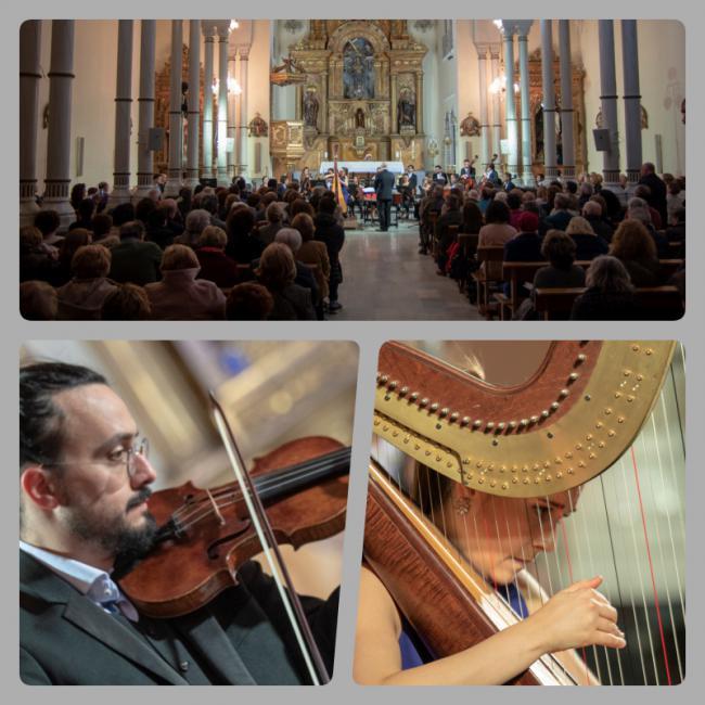 La OCAL inaugura con un lleno absoluto la espiritual elegancia del Ciclo de Música Sacra