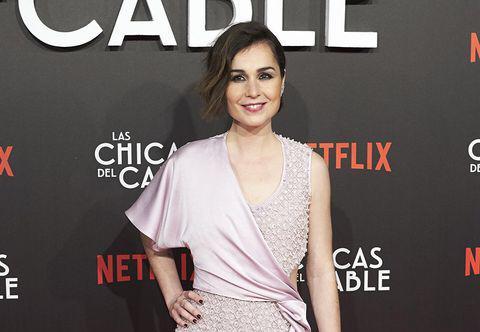 Nadia de Santiago en la alfombra roja del Festival de Cine de Berja