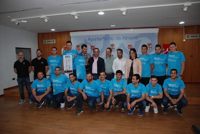 El concejal de Deportes de Almería recibe a CBM Bahía de Almería