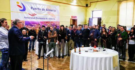 La Autoridad Portuaria celebra la Navidad en el edificio del Varadero