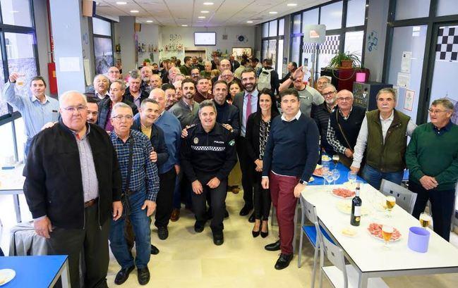 La Asociación Recreativa y Cultural de la Policía Local celebra la Navidad