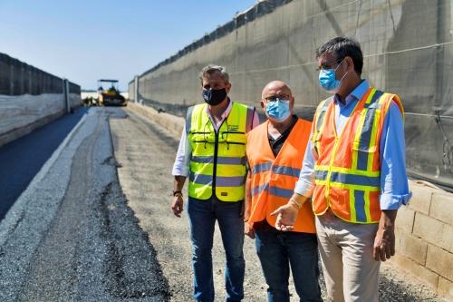 Diputación ejecuta el 98% de la inversión del Plan de Caminos 2020-21