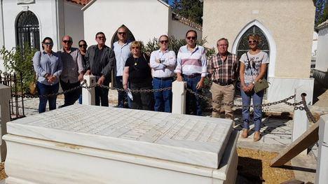 La nieta de Álvarez de Sotomayor descansa ya en el cementerio de Cuevas del Almanzora