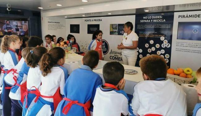 Cosentino organiza talleres en Almería sobre cómo alimentación segura