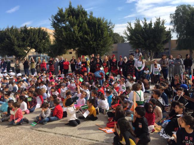 Los Escolares De Vícar Celebrarán Este Viernes el Día De Andalucía