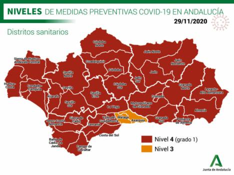 200 contagios #COVID19 en Almería y un fallecido mientras las UCI bajan en 8 pacientes