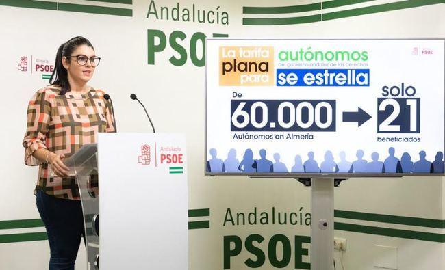 El PSOE desvela que sólo 21 autónomos han recibido ayuda del Gobierno andaluz