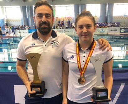 Dos almerienses con la selección andaluza alevín de natación