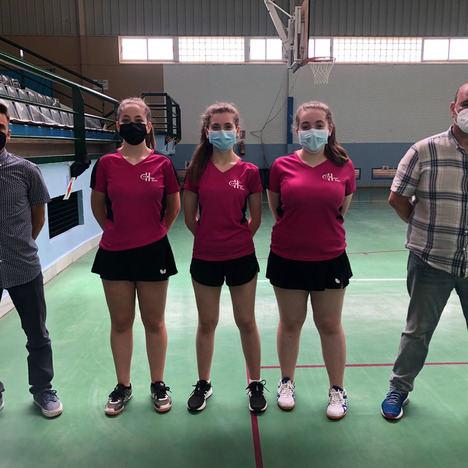 La halterofilia y el tenis del Huercál de Almería viven un fin de semana decisivo