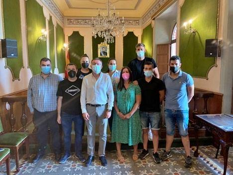 La asociación de comerciantes de Berja estrena Junta Directiva