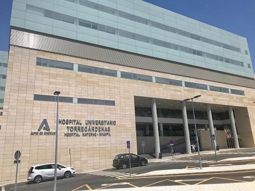 Nueva entrada al Hospital Torrecárdenas a partir del 25 de junio