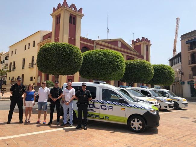 El Ayuntamiento de Berja dota a la Policía Local de un nuevo vehículo