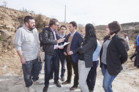 Diputación iniciará en febrero el camino que unirá Laroya y Tahal