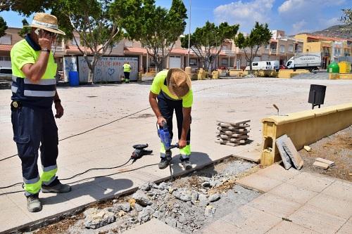 Última Fase De Remodelación Del Parque Gloria Fuertes De Las Cabañuelas