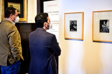 Dos grabados de Miguel Pineda y Montón en 'la obra invitada' del 'Doña Pakyta'