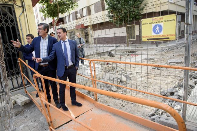 Diputación mejorará 5 kilómetros de vías rurales en Adra a través del Plan de Caminos