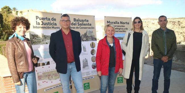 Cultura impulsa la puesta en valor de La Alcazaba con 180.000 euros en 3 actuaciones