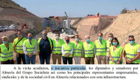 El Gobierno dice que el PSOE se autoinvitó a visitar las obras del AVE