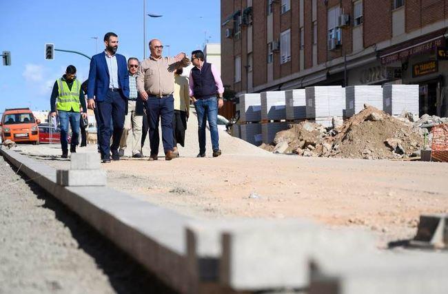 Las obras de la calle Santiago acabarán a lo largo del mes de diciembre