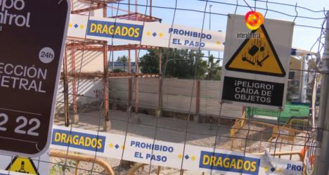 Acabadas las elecciones la Junta vuelve a parar las obras de la Casa del Mar