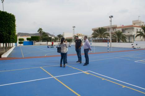 Finalizan en Carboneras las obras de mejora del Colegio Federico García Lorca