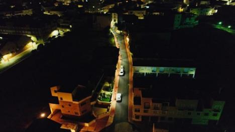 Obras de mejora en la calle San Agustín de Cuevas